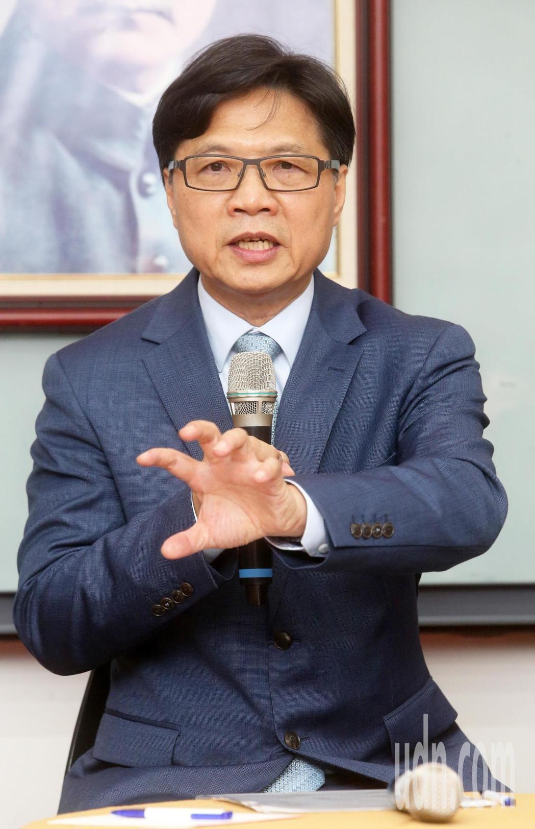 葉俊榮。報系資料照