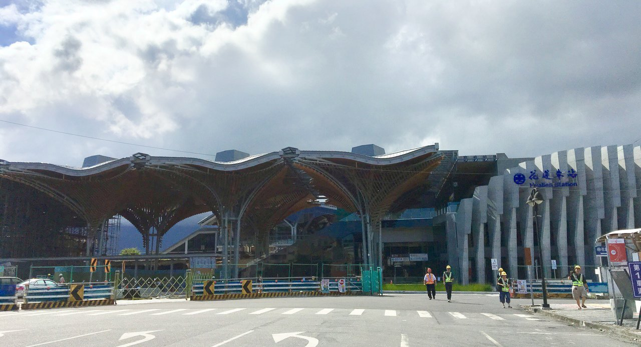 花蓮新車站耗時3年多,預計10月3日正式啟用。記者徐庭揚/攝影