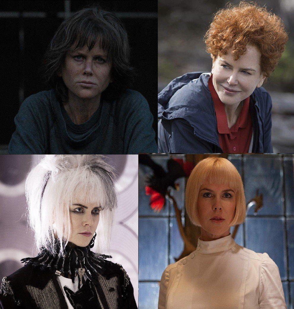 妮可基嫚過往在電影中戴過各種不同款式假髮。圖/摘自imdb