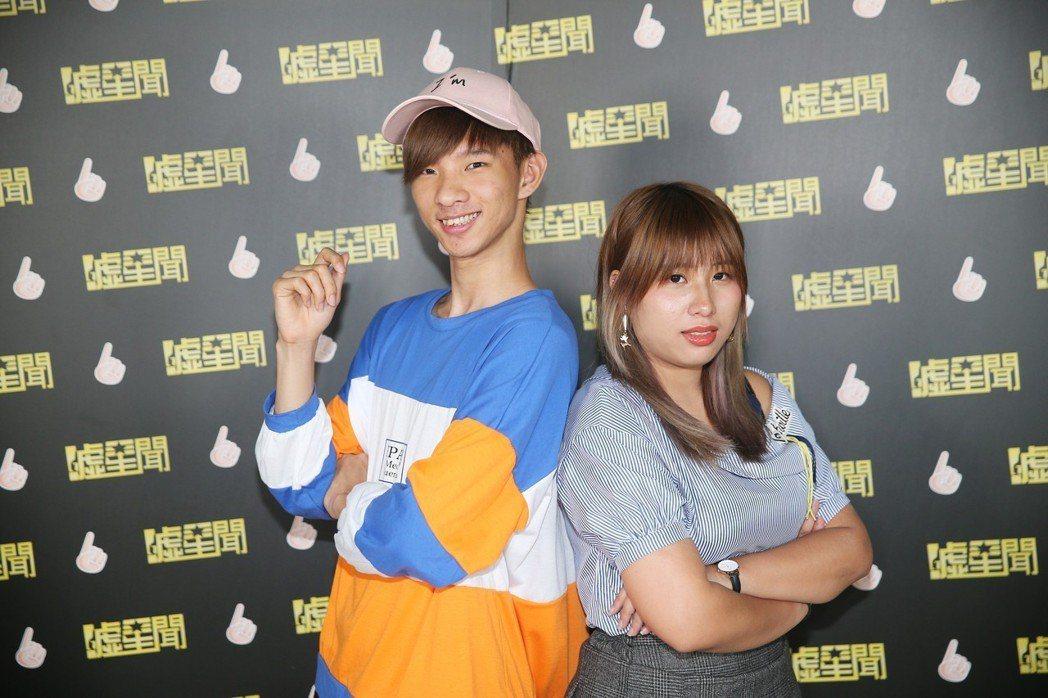 網紅小玉(左)、笑笑(右)。記者陳正興/攝影