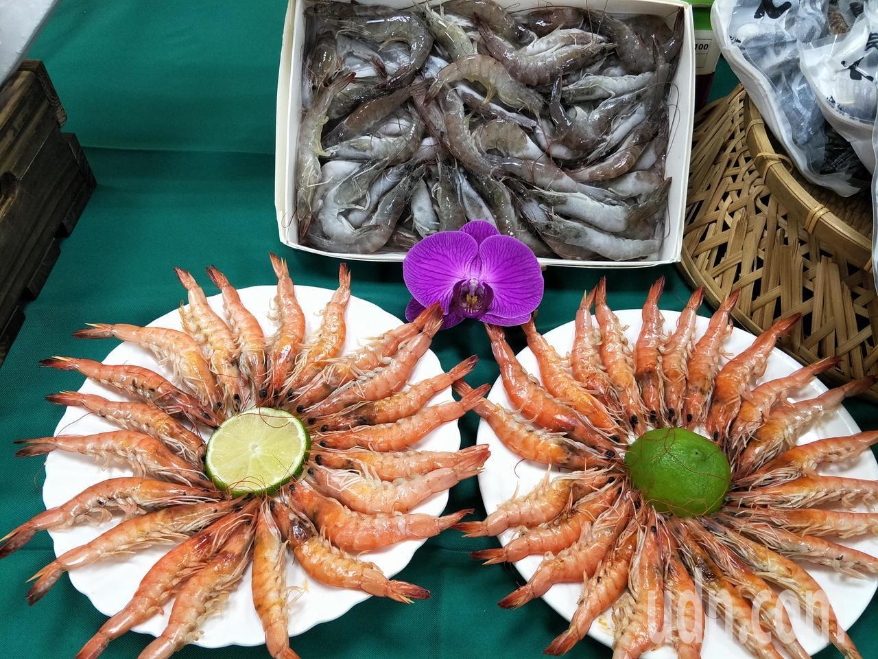 中秋近,台南市府農業局推薦台南優質農漁產品為消費者把關。記者謝進盛/攝影