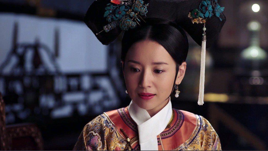 董潔飾演的「富察皇后」有腹黑心思。圖/愛奇藝台灣站提供