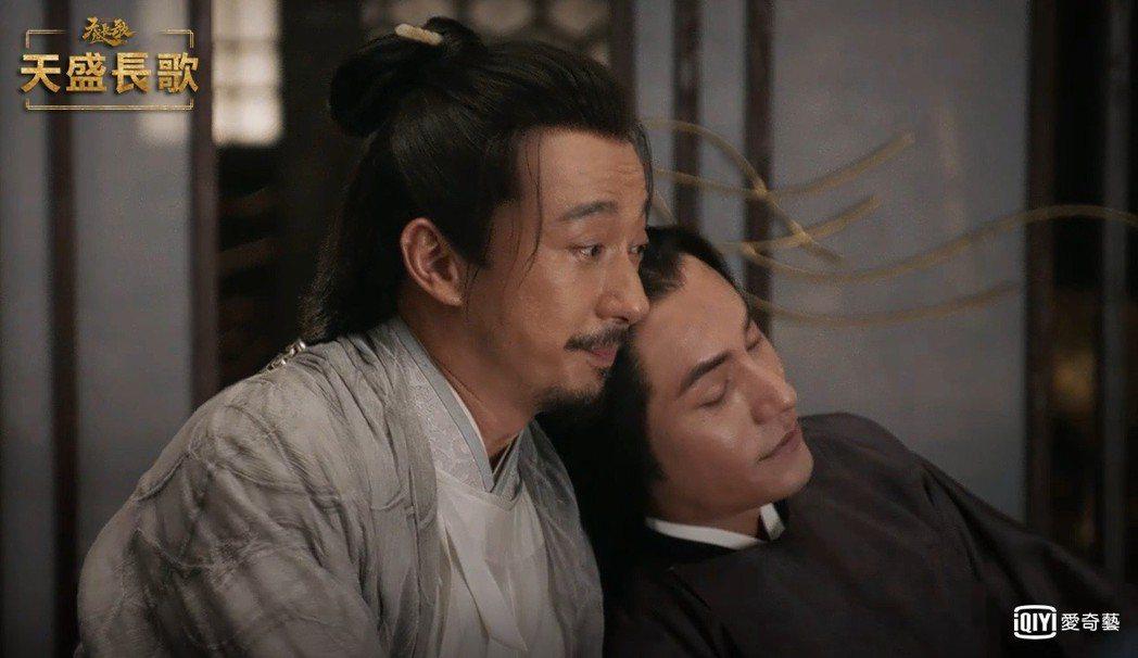 陳坤(右)、趙立新被湊對成男男CP。圖/愛奇藝台灣站提供