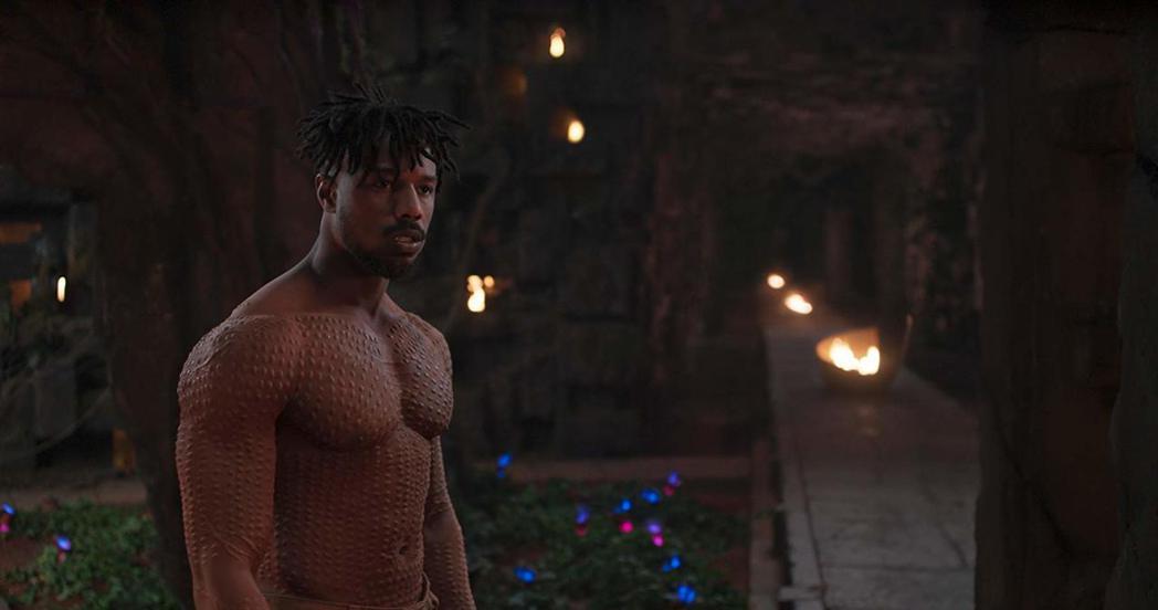 麥可B喬丹廣受看好憑「黑豹」入圍奧斯卡最佳男配角獎。圖/摘自imdb