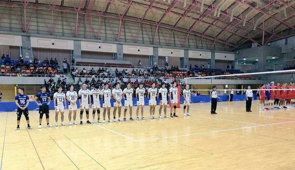 陳建禎首披松下黑豹戰袍,與法國U20代表隊國際友誼賽亮相。圖/陳建禎提供