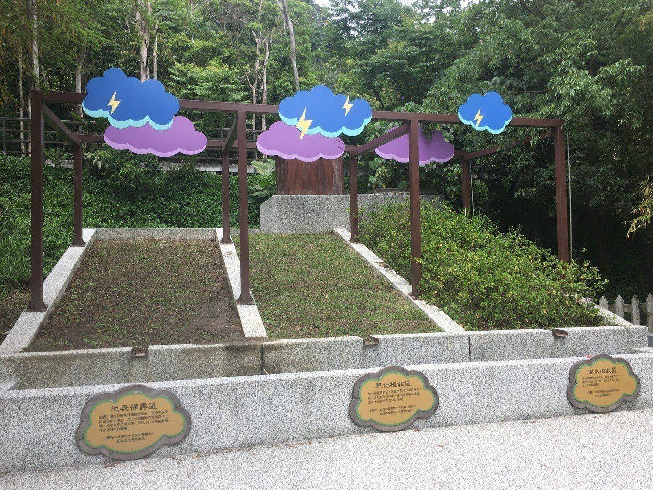 貴子坑露營場長期提供民眾免費使用,同時身兼水保教學園區。記者張世杰/攝影