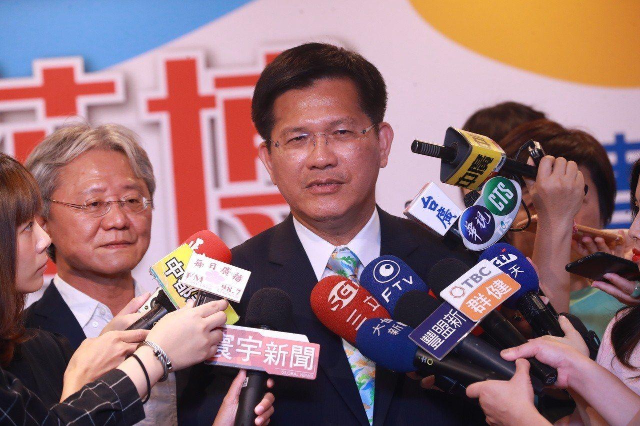 台中市長林佳龍。聯合報系記者喻文玟/攝影