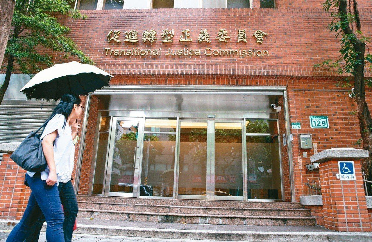 促轉會副主委張天欽召開「打侯會議」,重創促轉會與蔡政府形象。記者林俊良/攝影