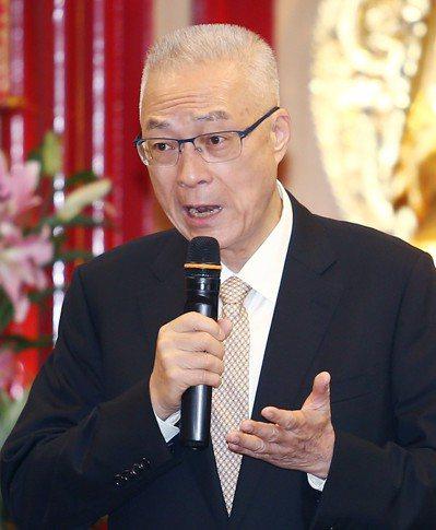 國民黨主席吳敦義批促轉會的做法非常不智。 記者杜建重/攝影