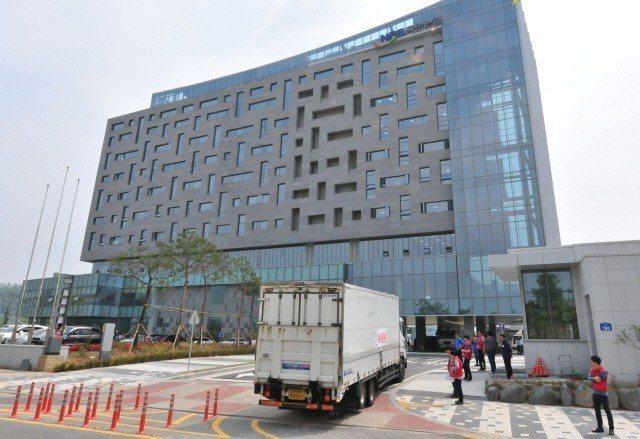 南韓國民年金位於全北革新城市的新總部。 圖/翻攝網路