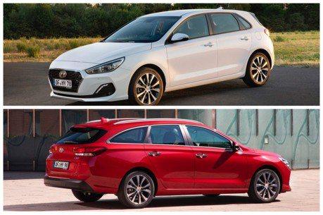 影/小改款Hyundai i30掀背與旅行車款 導入新式柴油動力