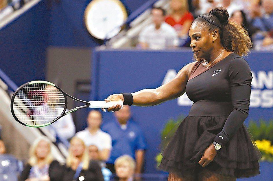 Amer Sports生產美國網球天后小威廉絲(Serena Williams)...
