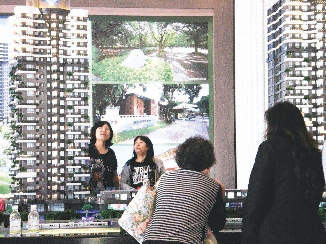 目前稅制壓縮房地產獲利空間,使得市場上仍以自用買房者居多,投資客退場。 報系資料...