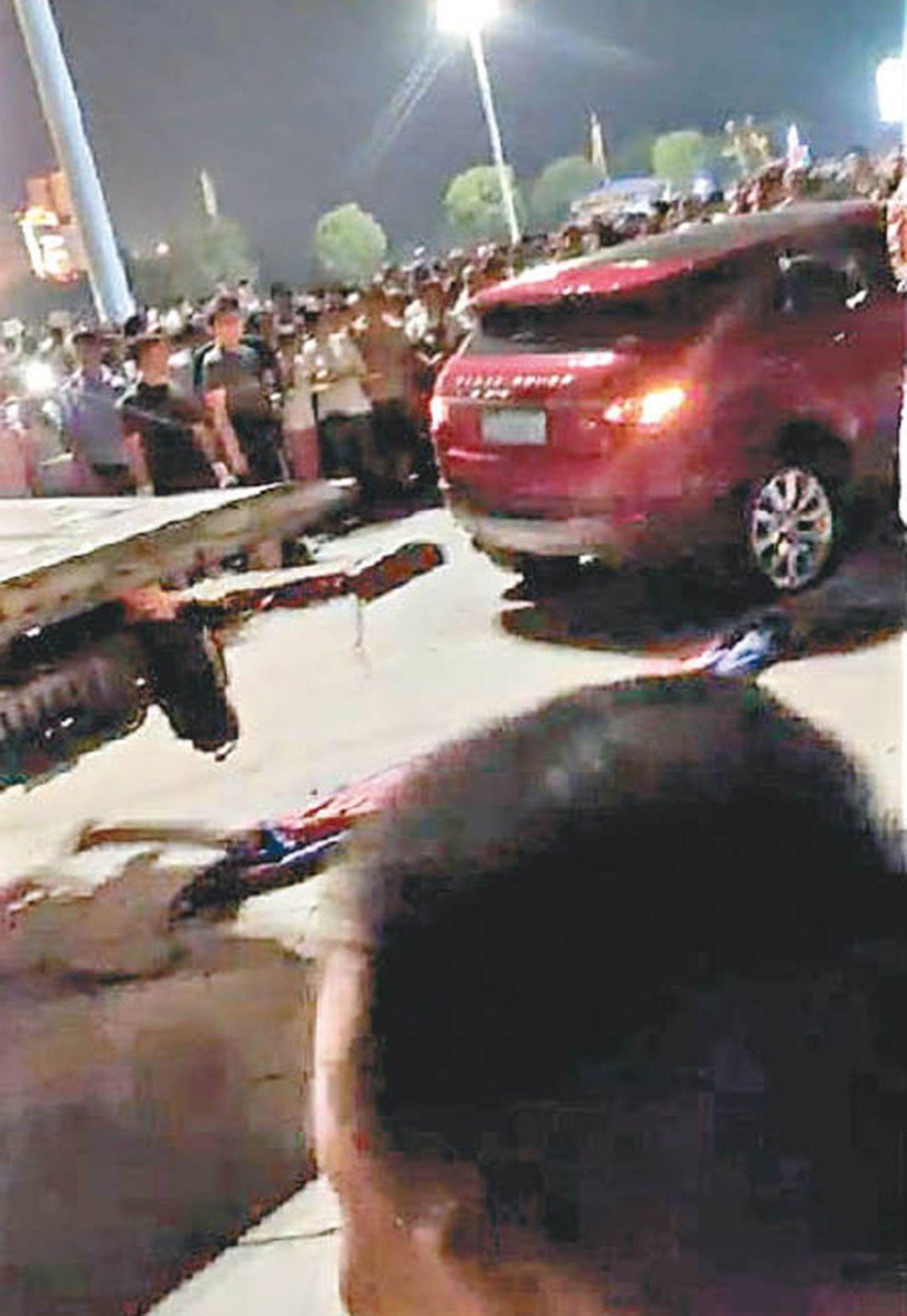 衡陽男子駕車,衝撞追斬釀9死46傷。圖/擷自新京報