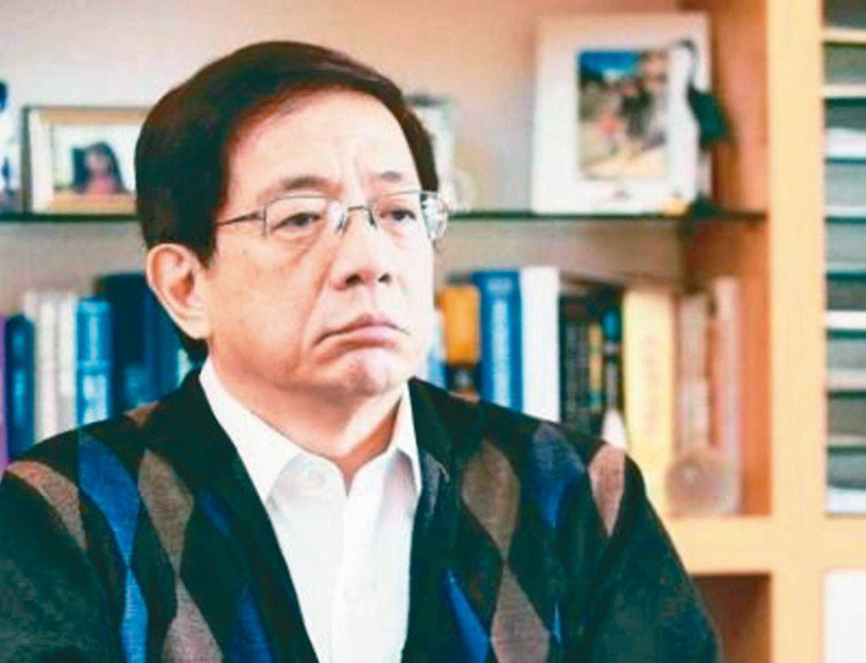 台大校長當選人管中閔接受本報專訪時反問葉俊榮三個「是不是」。 圖/聯合報系資料照片