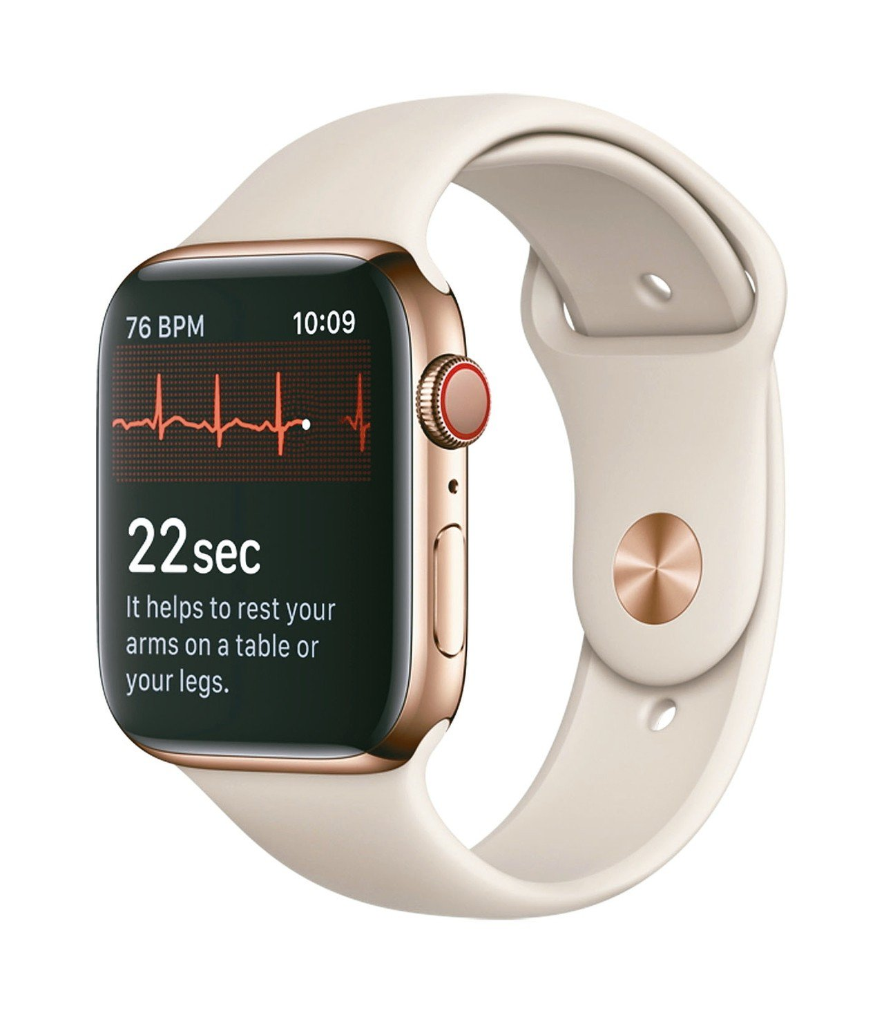 Apple Watch再進化,可偵測心率。 歐新社