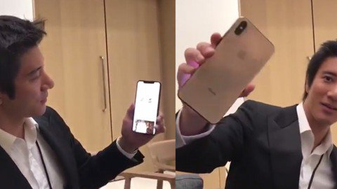 蘋果新品發表會13日舉行,去年林俊傑獲邀出席,今年卻換成了王力宏,讓許多網友相當驚訝。13日凌晨,王力宏還開心地秀上還未上市iPhone Xs Max,並開心地說著「超大超漂亮,還沒上市唷,但是今天...
