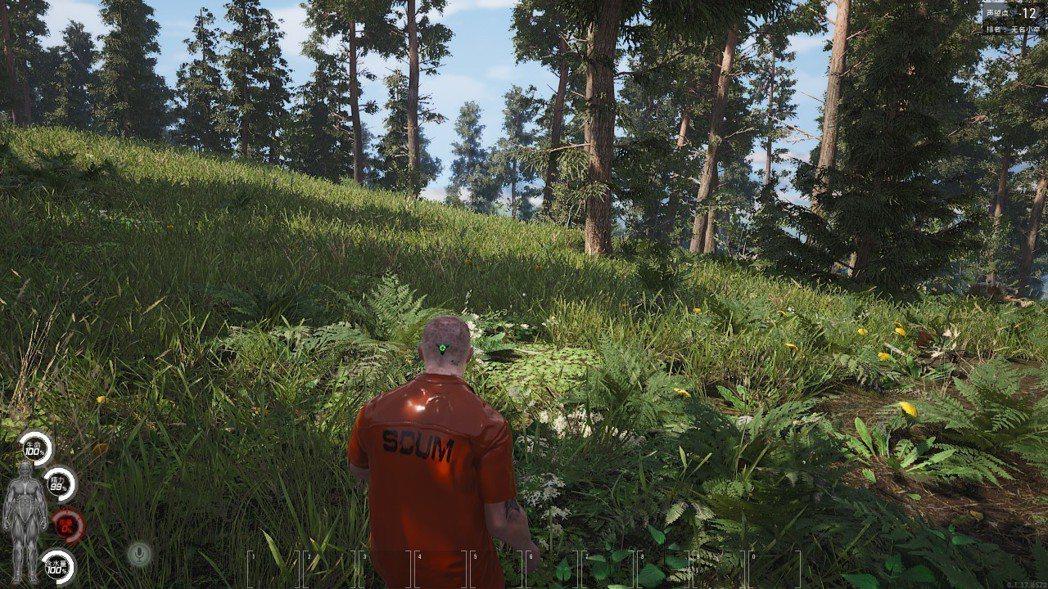 穿著橘色囚衣的玩家,是十分顯眼的目標