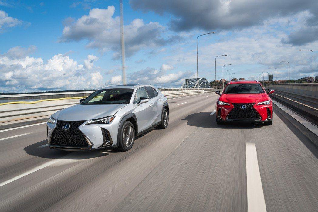 Lexus在今年三月的日內瓦車展上發表了全新小型跨界休旅UX。 摘自Lexus