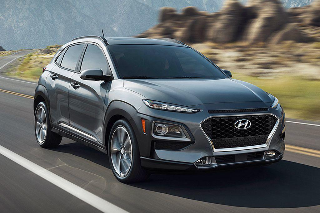Hyundai全新都會跨界車款Kona,預計在今年第三季導入台灣市場。 圖/Hy...