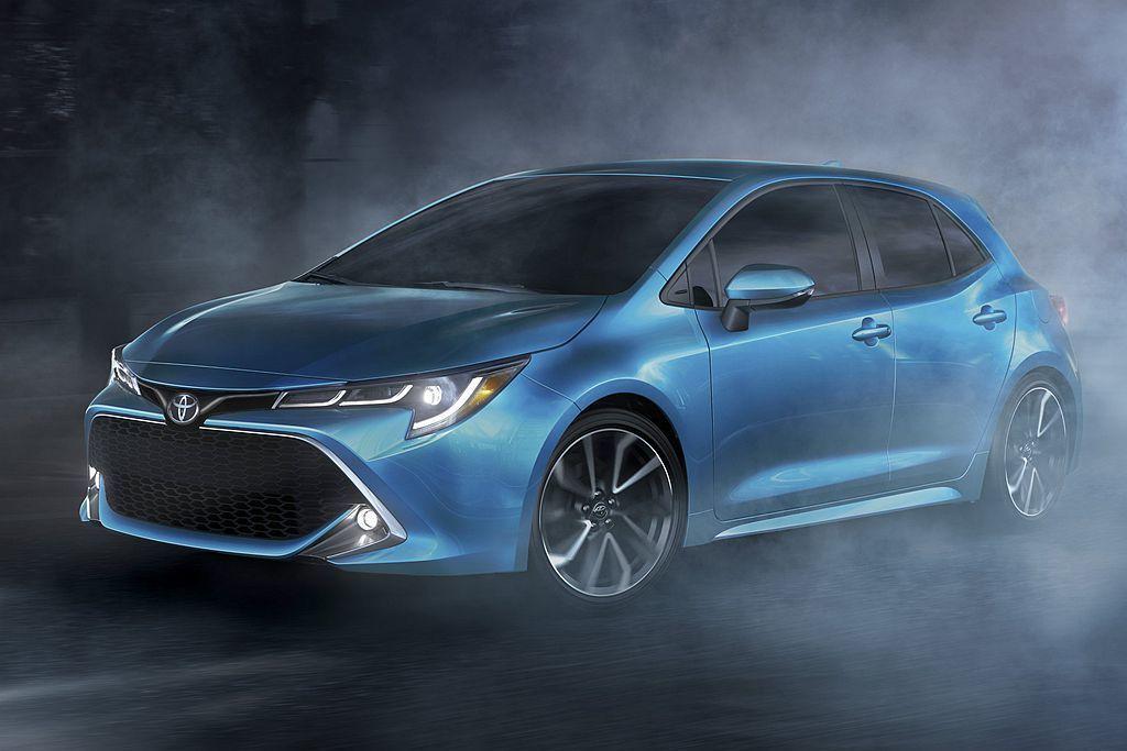 美國稱為Toyota Corolla Hatchback的運動掀背車,也進入北美...