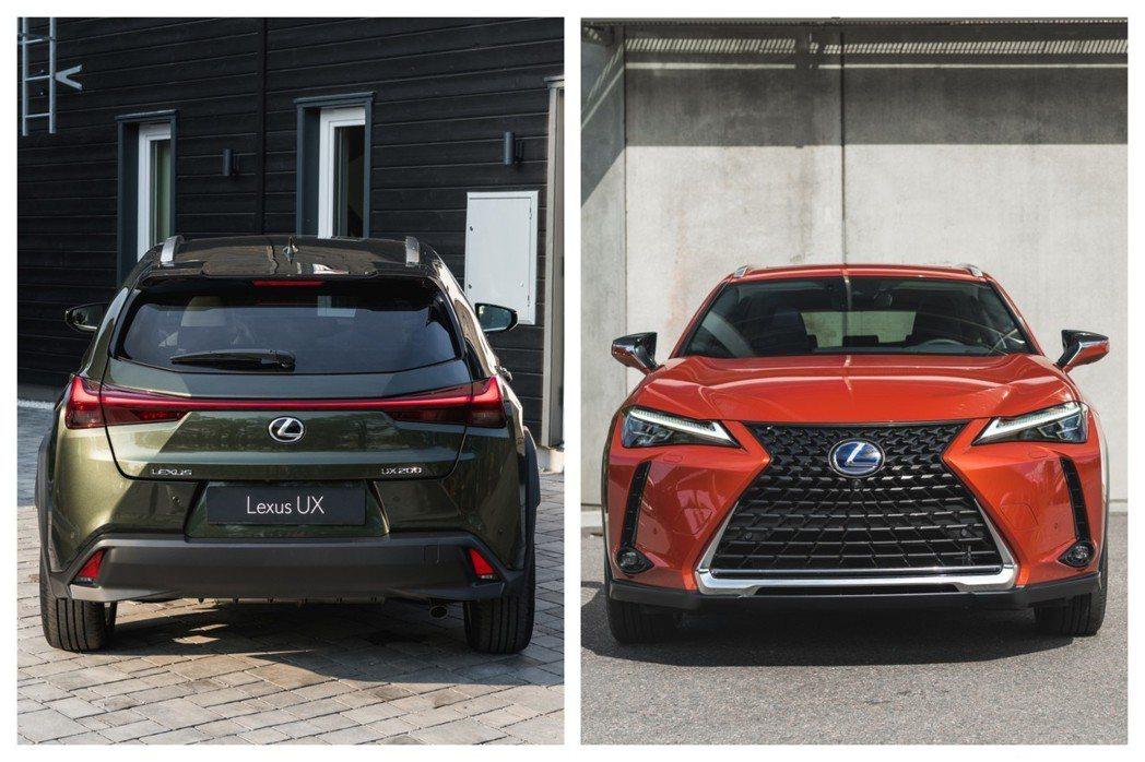 原廠為UX提供了多達12種的車色選擇。 摘自Lexus