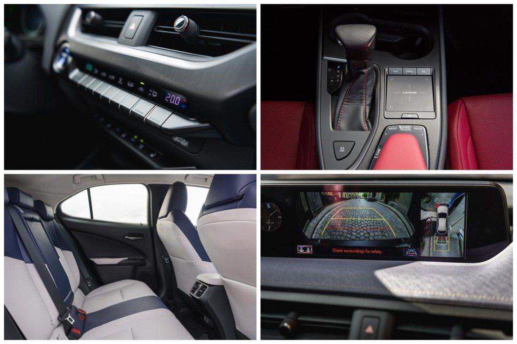 Lexus UX內裝。 摘自Lexus