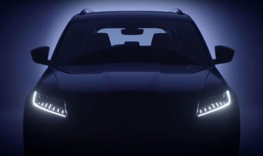 Škoda首款全LED大燈組的SUV。 摘自Škoda