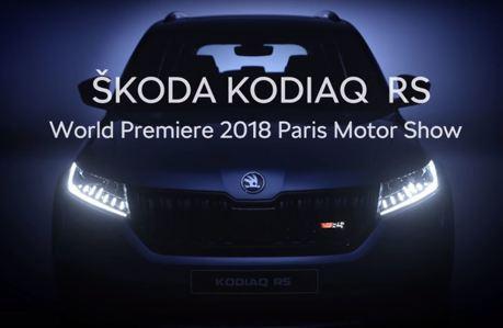 Škoda Kodiaq RS預告片再度釋出 全LED頭燈 虛擬儀表搶先曝光!