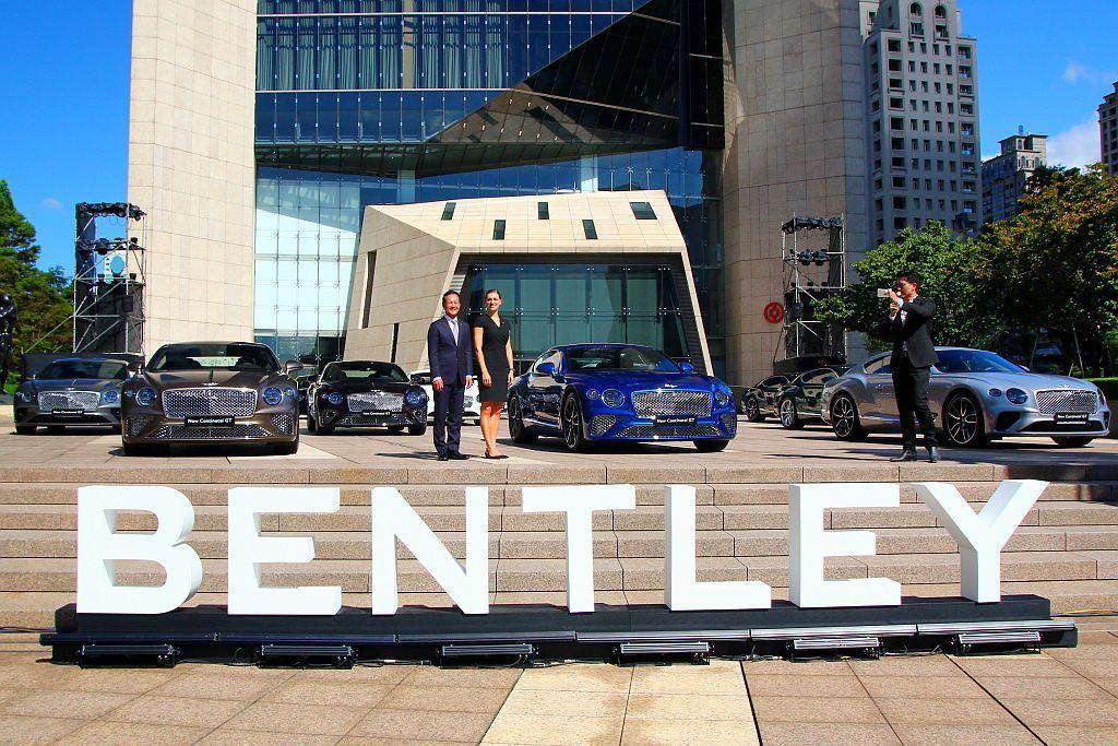 Bentley Motors亞太區區域經理Katya Zavialova更特地出席這個交車盛會。 記者張振群/攝影