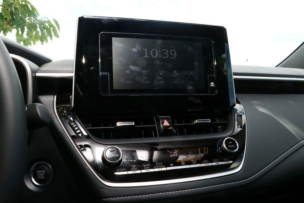 Drive+隨行駕駛系統提供的功能較為陽春,還需選配升級。 記者陳威任/攝影