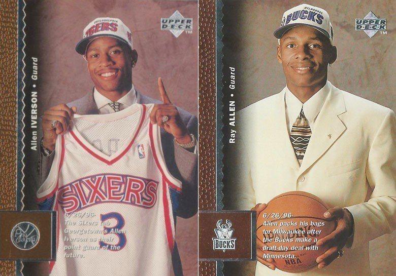 1996年的NBA選秀出了四位史上最優秀的後衛,在生涯中都有驚人的成就。第一順位...