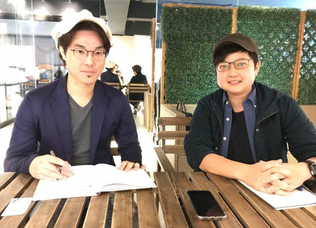 「意義製造」的創辦人黃柏霖(左)和劉毓菁(右)原來是在廣告及電視電影領域的工作者...