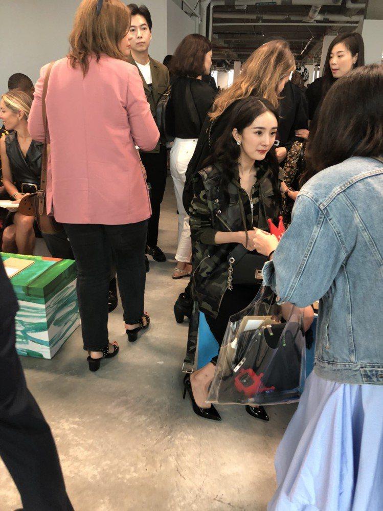 MK品牌大使楊冪出席2019春夏發表。圖/記者楊詩涵攝影