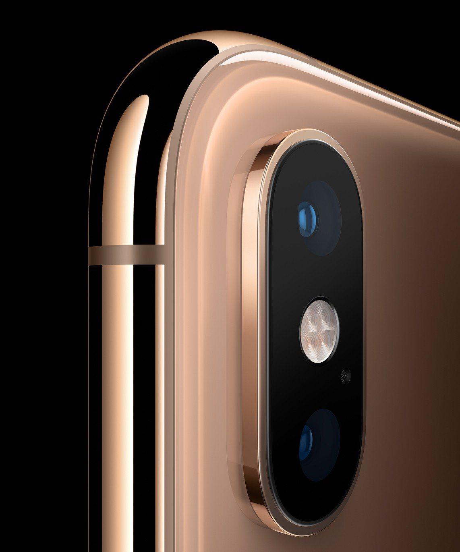 iPhone XS、iPhone XS Max配備1,200萬畫素廣角與長焦雙主...