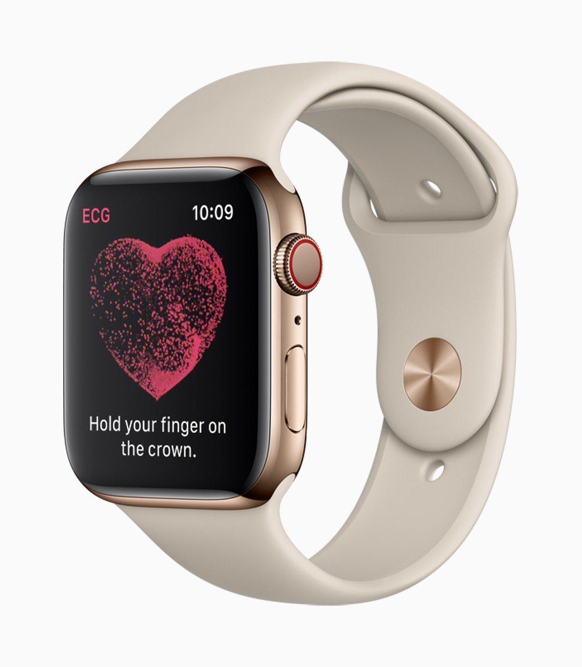 Apple Watch Series 4擁有全新的「呼吸」表面,健康管理功能也再...