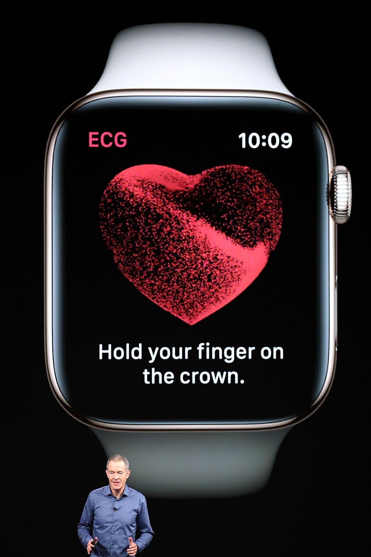 有分析師說,蘋果剛剛發布的第四代手表是「真正改變遊戲規則的產品」。法新社