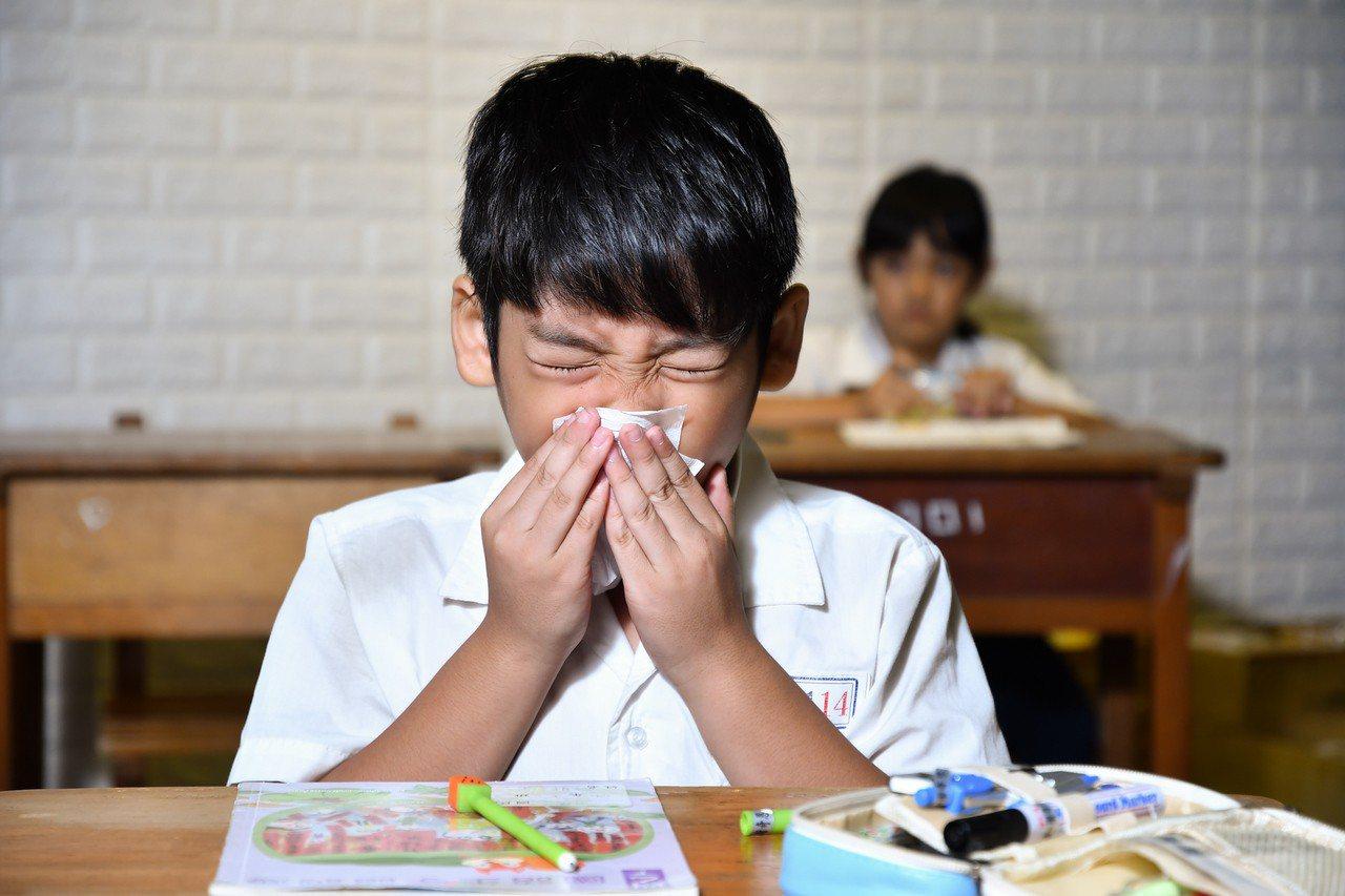 寒暑假過後一至兩周,為孩童過敏的高峰期,就診人數上升三至五成,原因為開學壓力大、...