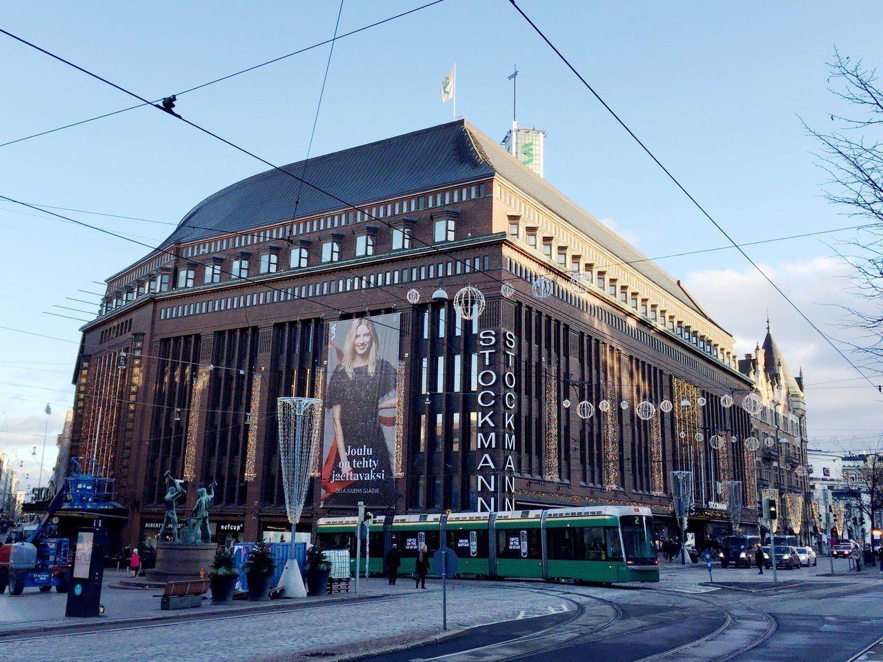 芬蘭最大百貨公司斯多克曼開設性別中立樓層,提供無性別之分的時尚服飾。路透