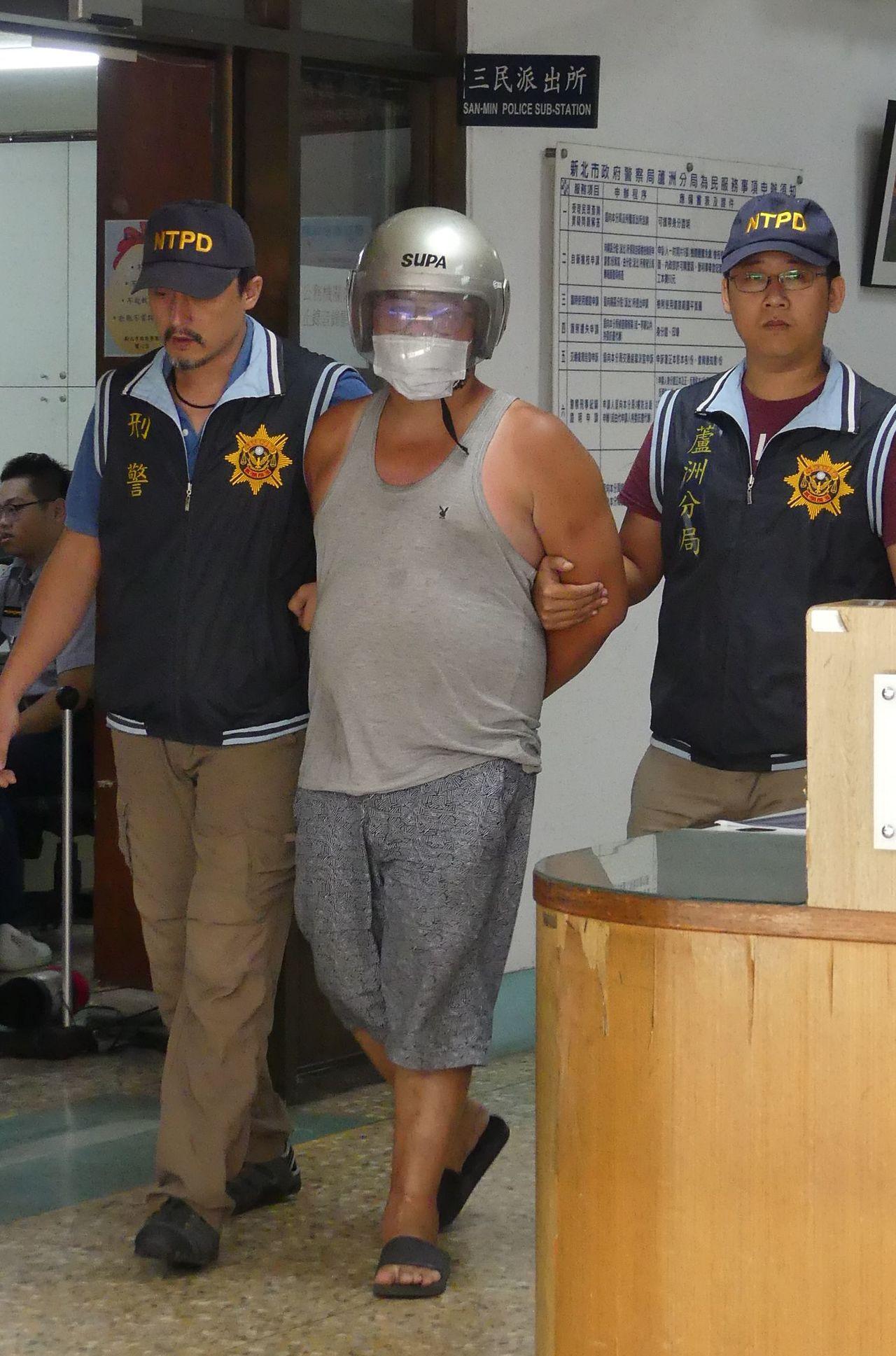 林嫌被警方移送地檢署建請羈押。記者林昭彰/攝影