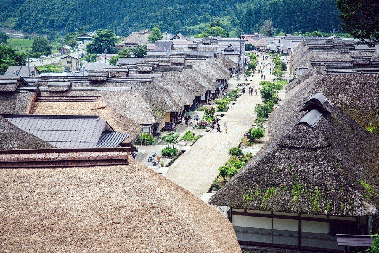 日本大內宿。 圖/雄獅旅遊提供