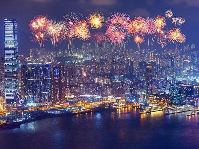 2019年跨年10大熱門航點以香港最為熱銷。圖/易遊網提供