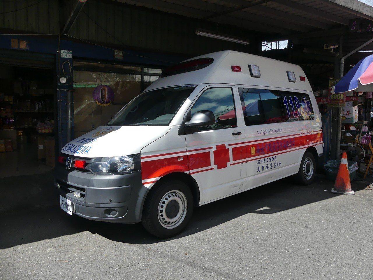 大有福德宮105年便曾捐贈救護車。記者林昭彰/攝影