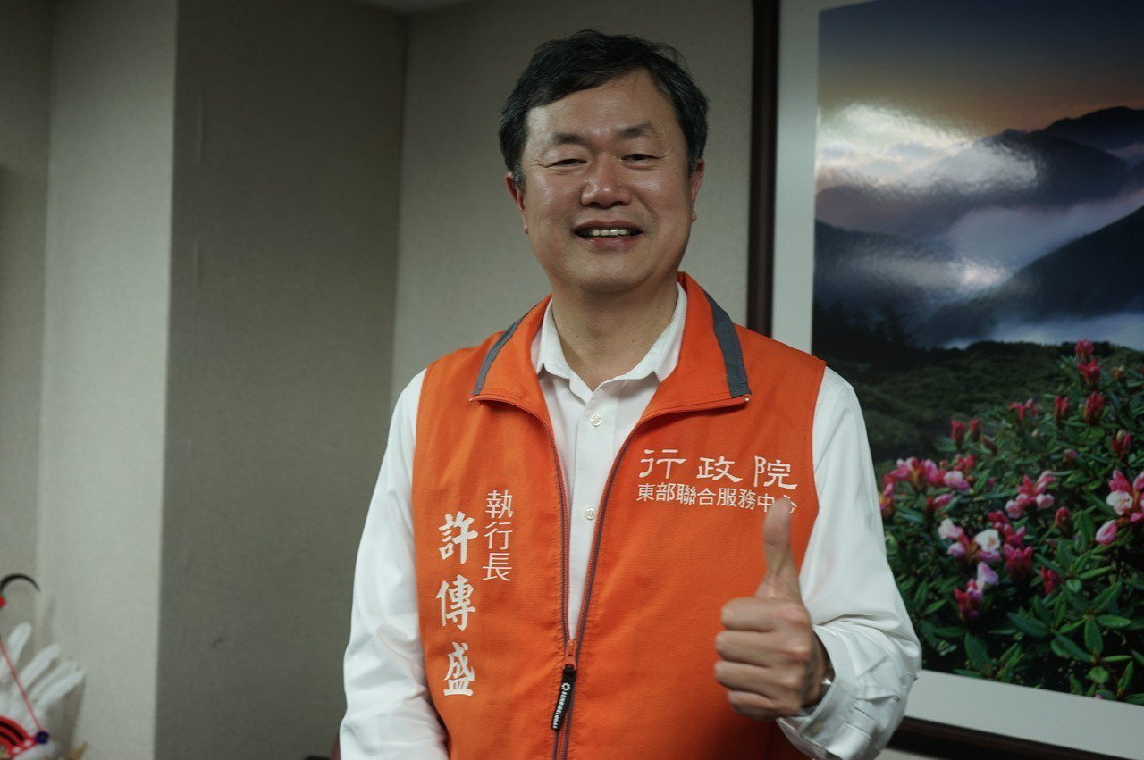 行政院東辦執行長許傳盛被地方盛傳是花蓮代理縣長可能人選之一。圖/聯合報系資料照片