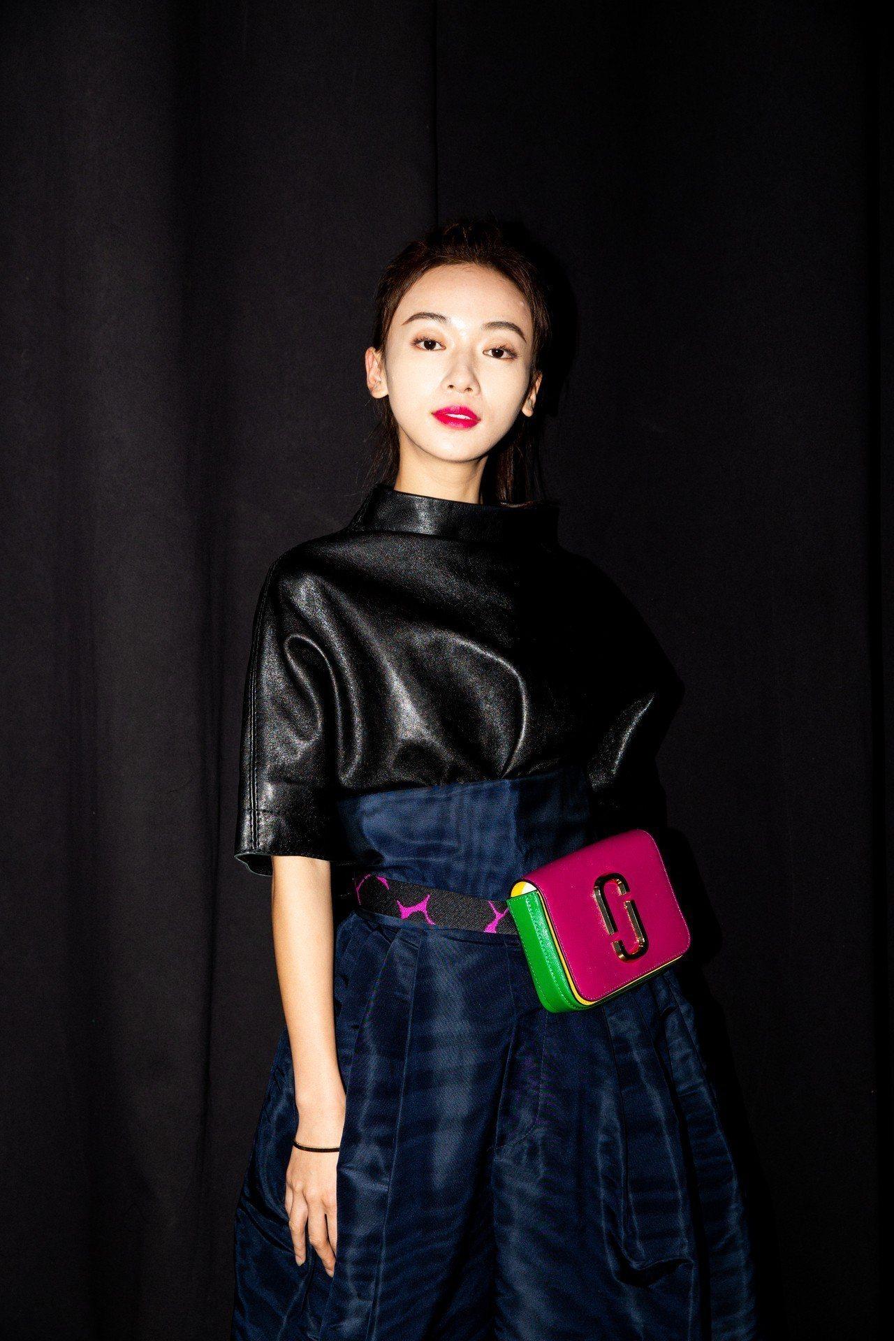 近期話題度最高的吳謹言參與了紐約時裝周的壓軸大秀。圖/MARC JACOBS提供