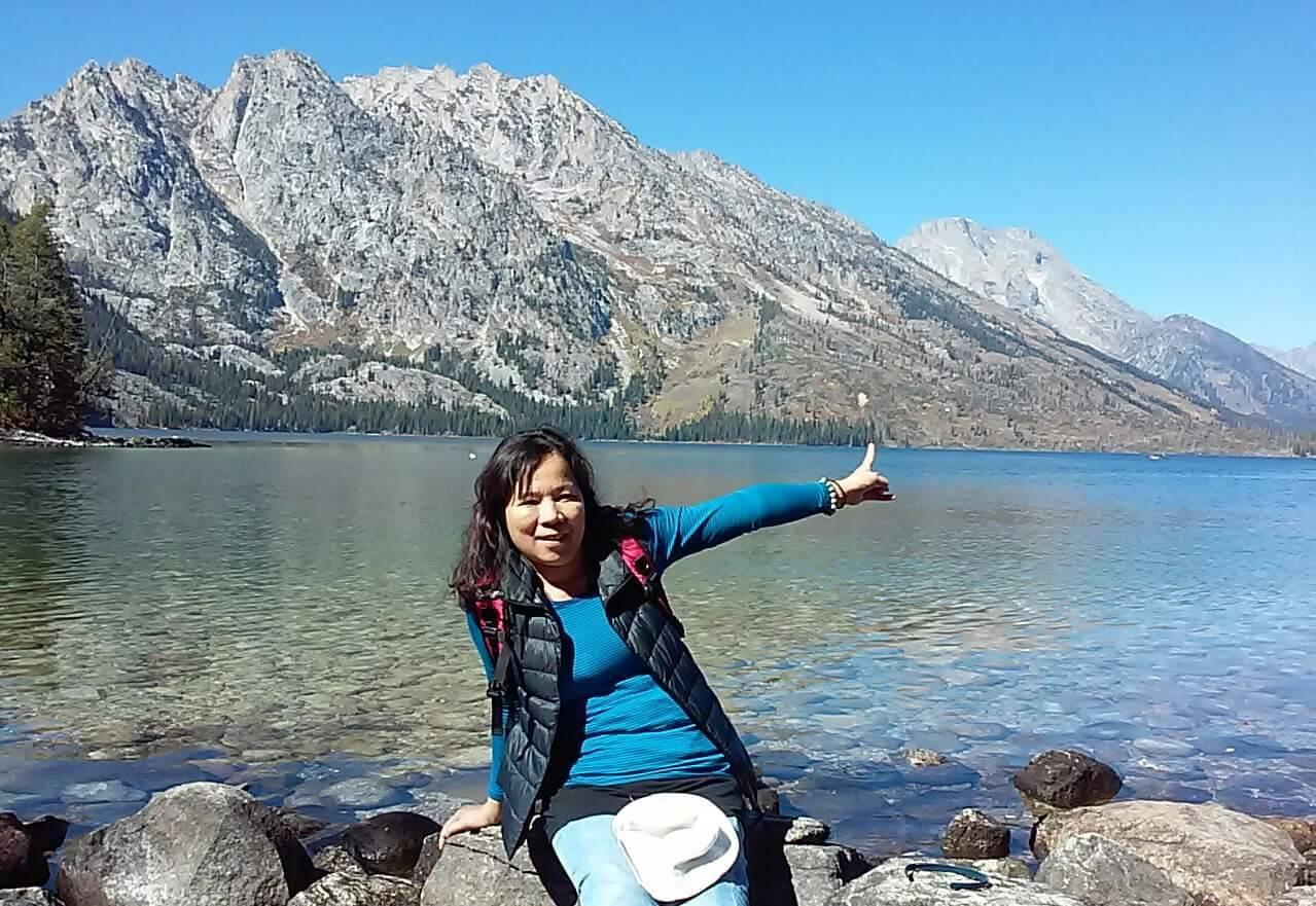 美濃客家女兒吳仁娣生前熱心公益,家人內心充滿不捨。圖/家人提供