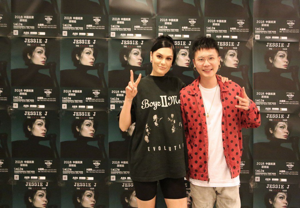 蕭秉治擔任「英倫鐵肺歌后」Jessie J演唱會暖場嘉賓。圖/相信音樂提供
