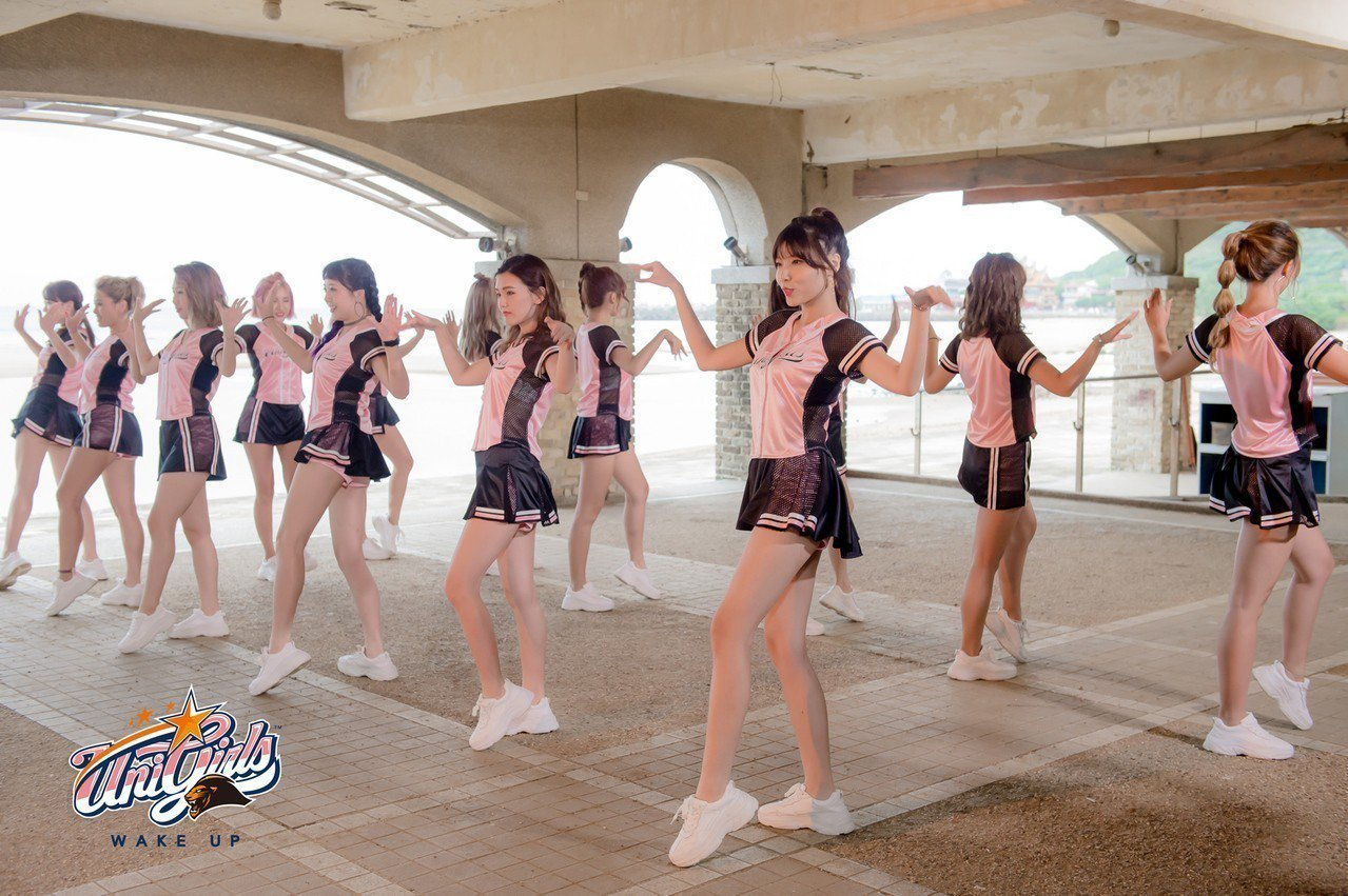 Uni Girls成軍10年,將在女孩日主題活動和球迷互動。圖/統一獅隊提供