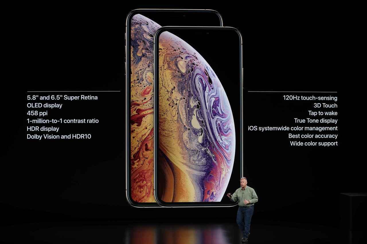 蘋果昨(12)日發表的iPhone新機,將採用台積電製造的7奈米晶片。 路透