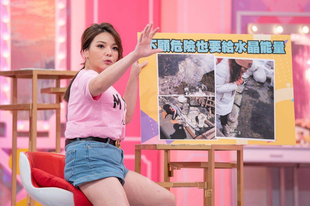 小甜甜自從跟張峰奇分手之後單身6年了。圖/TVBS提供